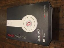 Beats by dre solo hd box only