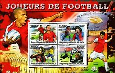 2012 FOOTBALL Players Stamp Sheet (Ronaldo/Messi/Kaka/Neuer/Henry/Fabregas)