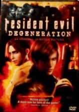 RESIDENT EVIL DEGENERATION (2008) An Original CG Motion Picture Sony DVD
