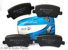 Genuine allied nippon volvo S60 S80 V60 V70 XC60 XC70 essieu arrière plaquettes de frein neuf
