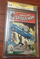 AMAZING SPIDER-MAN 306 CGC 9.8 SS STAN LEE •WHITE PAGES**FREE SHIPPING* *