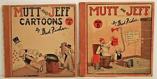 Mutt & Jeff 6 & 8 Cupples Leon Bud Fisher Platinum Age 1919 & 1922