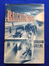 BRIGHTON ROCK - FIRST AMERICAN EDITION IN A LATER PRINTING DUST JACKET