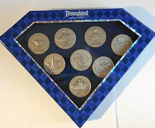 Disney DLR Diamond Celebration Event 60th Boxed Coin Pin Set of 8 - LE1000