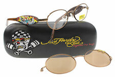 NEW Ed Hardy Eyeglasses EHK 102 PPEC COPPER KIDS