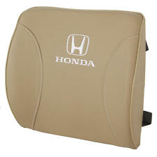 Honda Travel Lumbar Cushion - Orthopedic Comfort in Synthetic Leather - Beige
