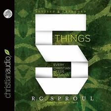 5 Things Every Christian Needs to Grow by R. C. Sproul (2015, CD, Unabridged)