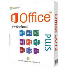 Microsoft Office Professional Plus 2013  Key&  GENUINE Download Delivery Online