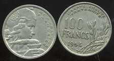 FRANCE  100 francs 1954 B   COCHET      ( etat )