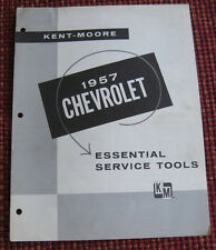 1957 Chevrolet Essential Service Tool Brochure & Order Form, Authentic Original