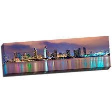 San Diego Landscape Wall Art on Wrapped Canvas Framed and Ready to Hang