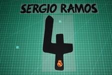 Real Madrid 13/14 #4 SERGIO RAMOS Homekit / Awaykit Nameset Printing