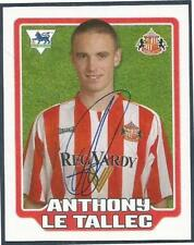 MERLIN F.A. PREMIER LEAGUE 06- #412-SUNDERLAND-ANTHONY LE TALLEC