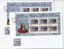 Schweiz 2006 - Mi. 1945, 1946 Kleinbogen Schweizer Garde auf FDC
