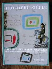 Catalogue Vente 89 Bibliothèque Pierre Berès Livres Ecrivains Français XXe 1999