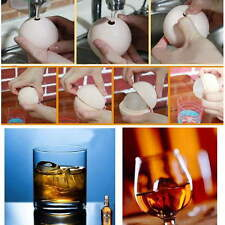 2.5 inch Silicone Ice Ball Maker Mold Sphere Large Tray Whiskey DIY Mould OE