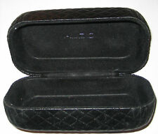 Aldo- Quilted Black Sunglass Case for Sunglasses, jewelry and storage
