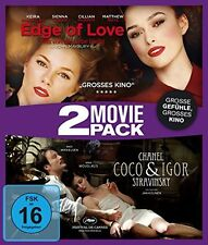Edge of Love / Coco Chanel & Igor Stravinsky - 2 Movie Pack [Blu-ray](NEU/OVP)