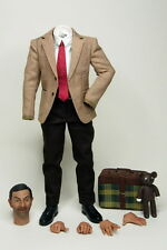 "1/6 Scale Mr Bean Clothes Suits Head Sets  For 12"" Male Action Figure Man  Body"