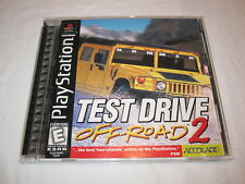 Test Drive Off-Road 2 (PlayStation PS1) Black Label Game Complete Excellent!