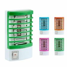 LED Electric Mosquito Fly Bug Insect Trap Zapper Killer Night Lamp USA Plug New