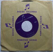 LOS DONNEROS ~ EL GRUPO MEXICAN 45 on DISCOS COLUMBIA ~ RARE latin HEAR IT!