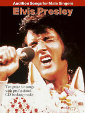 Audition Songs For Male Singers Elvis Presley Pvg Book/Cd, Various, Good, Paperb