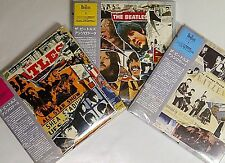 The BEATLES * ANTHOLOGY Volumes 1, 2 & 3 * 6 CDs Mini-LP with OBI