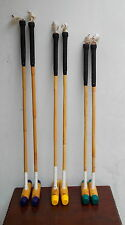 "6 sticks + 6 balls | Cycle, Practice, Foot Polo Mallets | 18"" - 36"" 