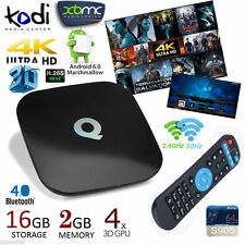 Q-BOX Smart TV BOX 4K*2K Android 6.0 KODI/XBMC QuadCore 2GB/16GB Dual WIFI H.265