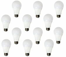 60 Watt Equivalent LED Edison light bulb A60 120V 2700k Warm White E26 (12 PACK)