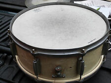1950's GRETSCH  5 1/2 x 14 WMP SNARE DRUM ROUND BADGE 3 PLY aug 1953