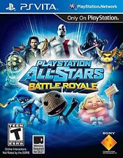 PlayStation All-Stars Battle Royale [PlayStation Vita PSV, Fighting Game] NEW