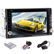 "Win8 UI GPS Navigation HD 6.2"" Touch Screen Car DVD Player Radio TV Bluetooth"