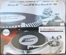 Epsilon - DJT-1300USB - PRECISION POWER Ultra Hi Torque Pro DJ Turntable