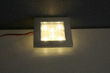90mm Flush Square Campervan Spotlight, Motorhome Lighting, VW T5 LED Light.