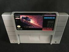 Top Gear 2 (Super Nintendo Entertainment System, 1993) Cartridge