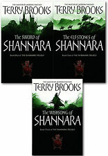 Shannara Chronicles Series Terry Brooks 3 Books Collection Set Sword Of Shannara