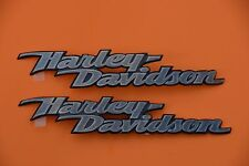 HARLEY DAVIDSON FUEL TANK  EMBLEMS MEDALLIONS SOFTAIL DYNA STREET GLIDE USA MADE