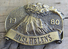 Mount St Helens Washington Volcano Vintage Belt Buckle