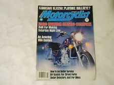 NOVEMBER 1979 MOTORCYCLIST MAGAZINE,KAWASAKI KLX250,BSA CUSTOM,HONDA CX500 COVER