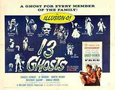 13 Ghosts Poster 03 A4 10x8 Photo Print