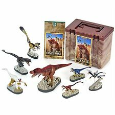 Colorata Discover Dinosaurs Feathered Dinosaurs Premium Real figure box #W/Track
