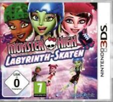 Nintendo 3ds Monster High laberinto patinar estrenar