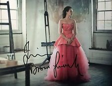 Jessica Brown Findlay SIGNED Autograph Image B 10x8 Photo AFTAL UACC Registered