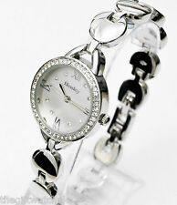Ladies Henley Silver Tone Crystal Bracelet Watch, New Season Elegant Design