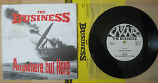 """7"""" Single The Business – Anywhere But Here oi punk cock sparrer clash"""