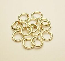 18 Ga Non Tarnish Silver Plated Jump Ring (4 MM O/D Pkg Of 120) Pro Quality Wire