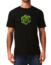 Dc shoes Usa Skateboard Co. Black Cub Logo Mens t shirt Small