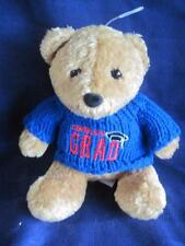US Balloon Graduation Bear Plush Stuffed Bean Bag  Animal Gift 6""